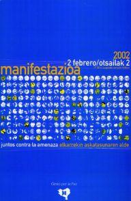 Manifestación 2002